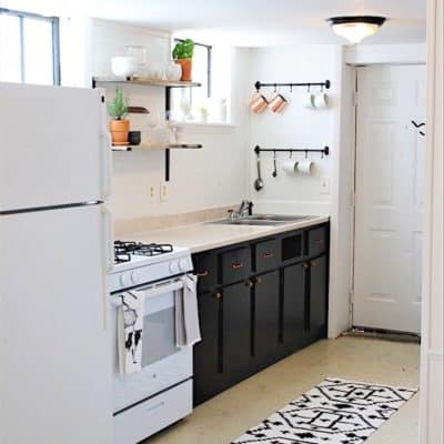 Charming efficiency apartment makeover