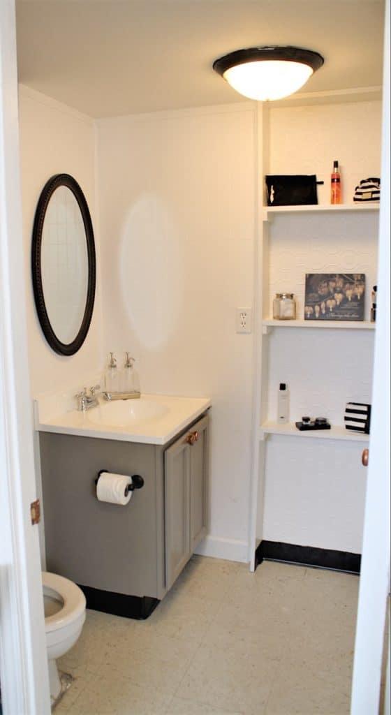 apartment makeover bathroom