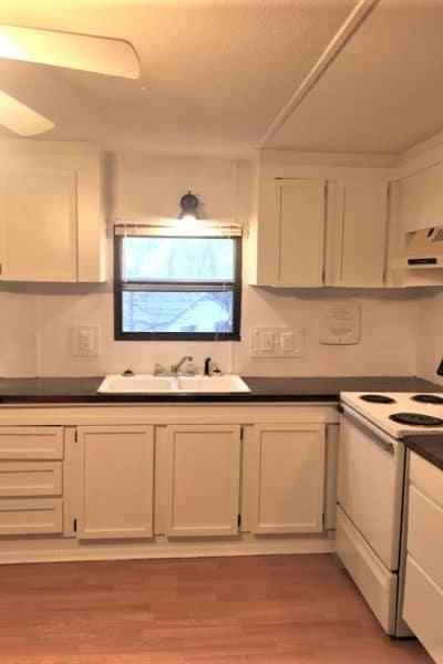 kitchen mobile home makeover
