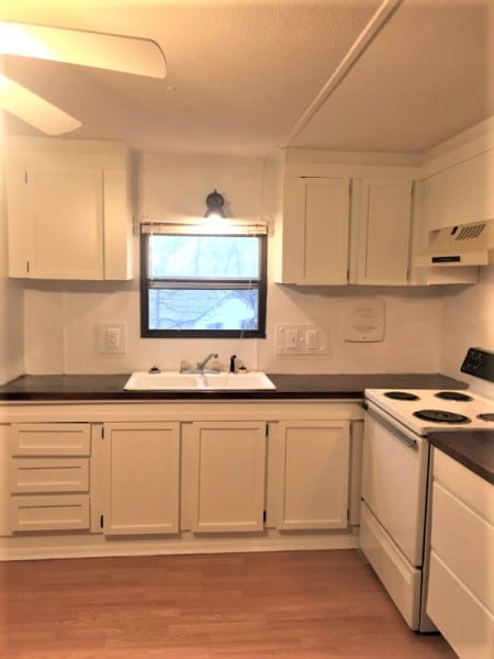 kitchen mobile home makeover