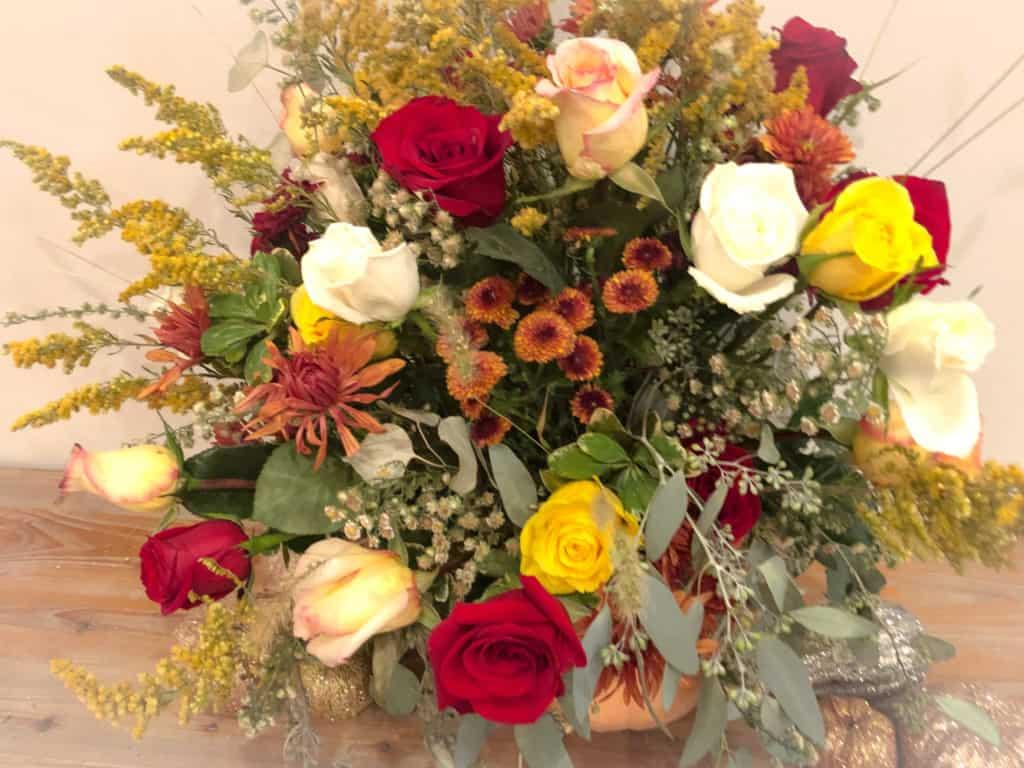 budget thanksgiving flowers