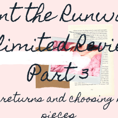 Rent the Runway Unlimited Review-Q&A, returns and choosing new pieces