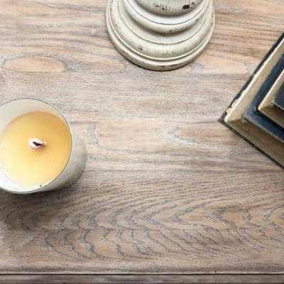 How to Makeover a Nightstand with Liming Wax and Chalk Paint
