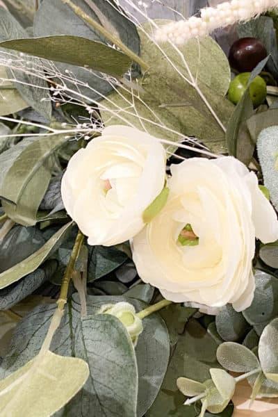 spring mantle garland