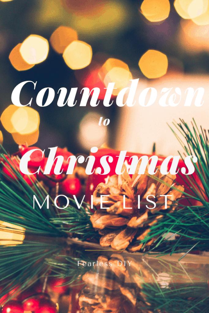 Countdown to Christmas Movie List